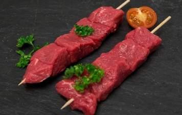 2 Beef skewers from Switzerland