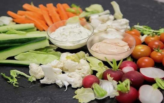 Veggie Dips, (2-3 people)
