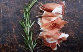 Raw ham from Geneva - Du Palais - Sliced