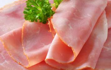 Ham from Geneva - Du Palais - sliced