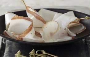 Lardo di Colonnata - sliced