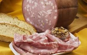 Mortadella Bologna - sliced