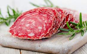 Salami di Cremona IGP - sliced