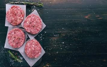 Steak haché de chevreuil
