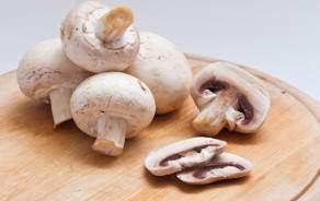 Button mushrooms (Swiss, Vaud)