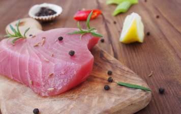 Coeur de thon sauvage (pavé, sans peau)