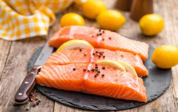Salmon fillet from Scotland (without skin)