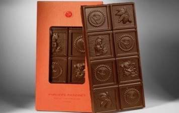 Milk chocolate bar from Pascoët