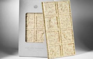 Tablette chocolat blanc Pascoët