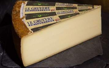 Gruyère (matured), from Bruand