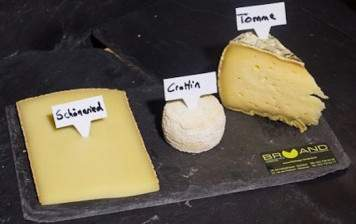 Cheese board for the end of your meal, Bruand, (2 people)
