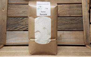 Stone ground buckwheat flour, Jaggiferm