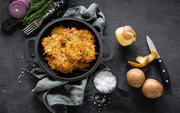 Beignets de pommes de terre BIO Pour 4 personnes