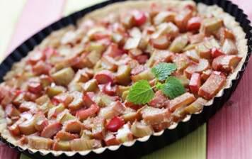 How to prepare: rhubarb tart