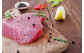 Coeur de thon sauvage (pavé