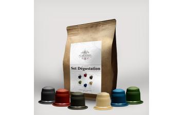 Café - Set de dégustations capsules biodégradables