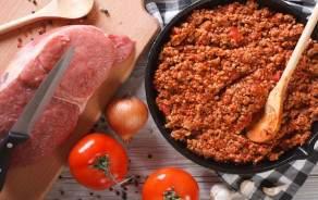 Sauce bolognaise (pur boeuf Suisse) à l'italienne faite maison