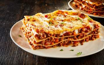 Meat Lasagna - fresh and...