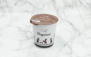 Chocolate yogurt from Moléson