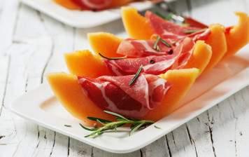 Melon Charentais & Jambon Cru
