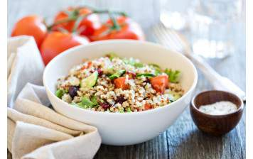 Swiss Quinoa salad
