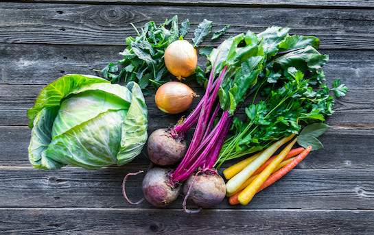 Légumes de saison genevois