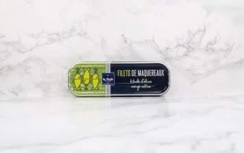 Filets de Maquereaux Huile d'Olive Vierge Extra