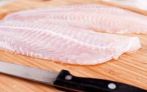 Sole sauvage préparée en filets avec peau sans arête