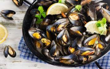 Mussels from Bouchot