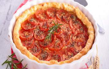 Tarte aux tomates genevoises