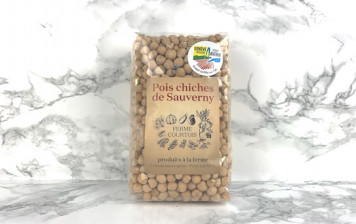 Chickpeas from Sauverny.
