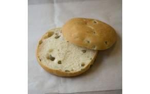Buns olives fait maison (pain burger)