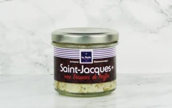 Saint-Jacques aux brisures de truffes