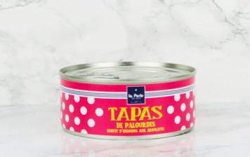 Tapas de palourdes - confit d'oignons aux aromates