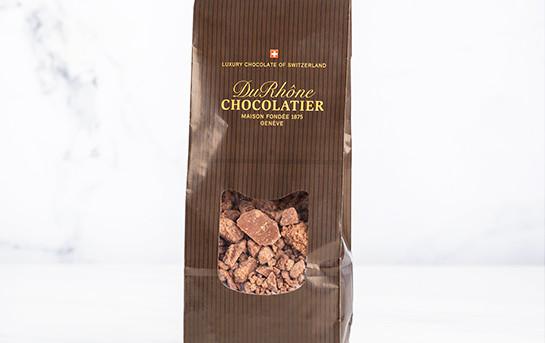 Couverture chocolat noir de la Chocolaterie du Rhône