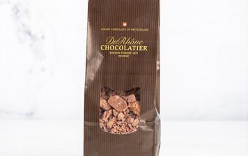 Couverture chocolat au lait de la Chocolaterie du Rhône