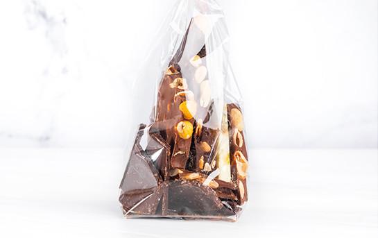 Block chocolate by Chocolaterie du Rhône