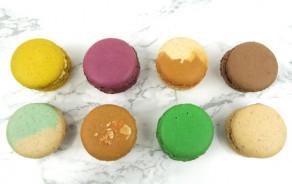 10 macarons sucrés fait maison sans gluten et sans lactose