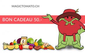 Bon cadeau MagicTomato 50.-