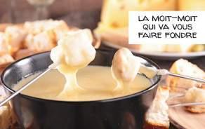 Fondue de la fromagerie Bruand  Pour 2-3 personnes