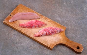Filet de rouget (avec peau)