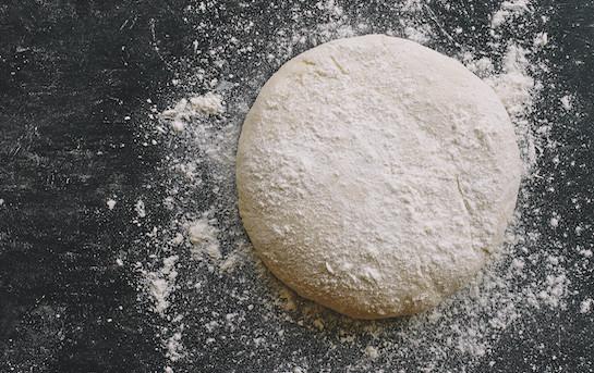 Pâte pain cru/pizza sous-vide