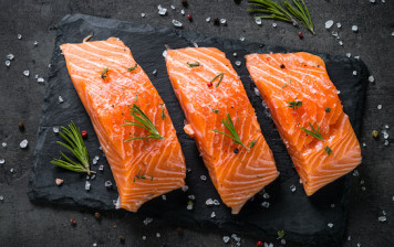 Salmon fillet from Scotland...