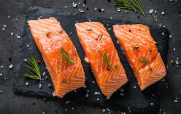 Filet de saumon d'Ecosse pavé et sans peau x4 spécial famille