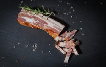Swiss smoked bacon