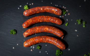 Homemade merguez (lamb &...