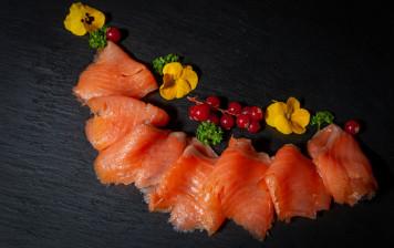 Smoked salmon Du Palais