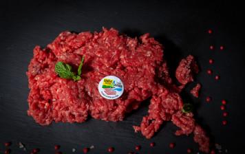 Ground Charolais beef