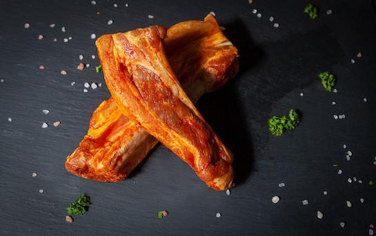 Ribs de porc marinade BBQ
