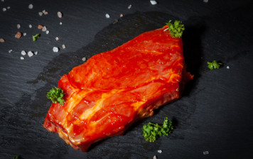 Roast collar of pork - BBQ...